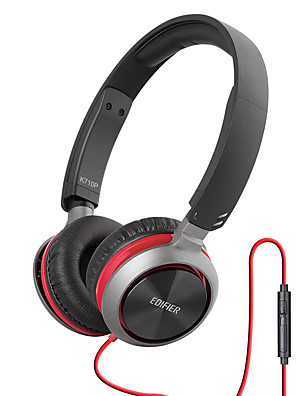Edifier K710P Fejhallgatók (fejpánt)ForMédialejátszó/tablet / Mobiltelefon / SzámítógépWithMikrofonnal / DJ / Hangerő szabályozás /
