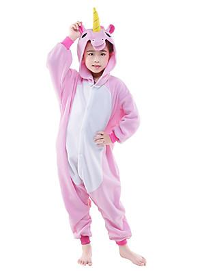 Kigurumi Pyjamas New Cosplay® / Fliegendes Pferd Gymnastikanzug/Einteiler Fest/Feiertage Tiernachtwäsche Halloween Rosa / Blau einfarbig