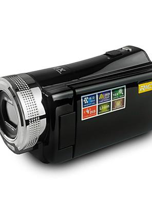 """rich® dvh-600 hd 720p pixels 16.0 mega pixels 16x de zoom de 2,7 """"LCD tela hd camcorder câmera digital"""