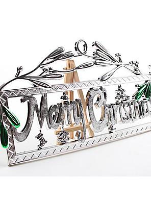 עזרים ל-Halloween קוספליי תחפושות ליל כל הקדושים זהוב / כסף טלאים / דפוס עוד אביזרים האלווין (ליל כל הקדושים) / חג המולד יוניסקס PVC