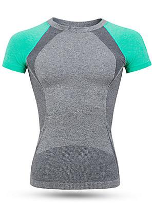 Esportivo Camisa para Ciclismo Mulheres Manga Curta Moto Respirável / Secagem Rápida / Alta Respirabilidade (>15,001g) / Confortável