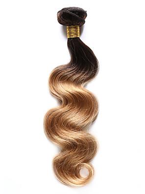 1 Stuk BodyGolf Menselijk haar weeft Indiaas haar 85-100g 10-18Inch Human Hair Extensions
