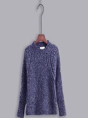 Menino de Suéter & Cardigan,Casual Cor Única Algodão Primavera / Outono Azul
