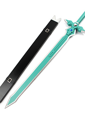 Våben / Sværd Inspireret af Sword Art Online Kirito Anime Cosplay Tilbehør Sværd Sort Træ Mand