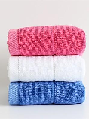 1 stk fuld bomuld sport håndklæde 12 med 43 tommer stærk vand absorptionskapacitet super bløde tilfældig farve