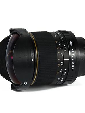 továbbfejlesztett változata 8mm f / 3.5 aszférikus körkörös ultra halszem objektív Canon 650D 750D 700D 600D 550D 500D 1000D 1100D