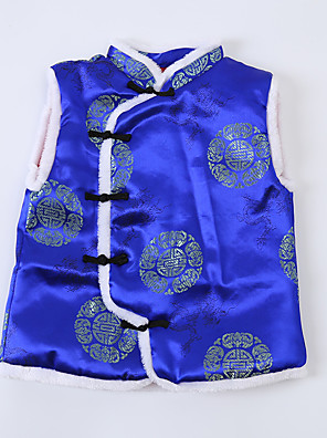Boy Party/Cocktail Floral Vest,Nylon Winter / Fall Sleeveless Short