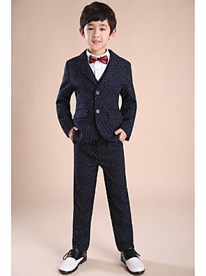 כותנה חליפה לנושא הטבעת  - 6 חתיכות כולל ג'קט / חולצה / וסט / מכנסיים / אבנט למותניים / עניבת פרפר