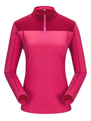 יוניסקס ז'קט עם שכבה חיצונית רכה / צמרות מחנאות וטיולים / ספורט פנאי שמור על חום הגוף / מגן / נוח סתיו / חורף צהוב / ירוק / אדום / כחולS