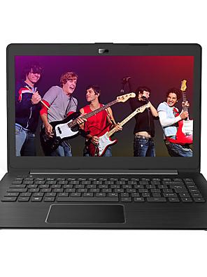 thtf bærbare laptop 14 tommer Intel Celeron quad-core cpu 4gb ram 500GB hdd vinduer 10