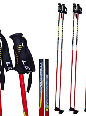 leki carbon ski pol .ski sport forsyninger / rød