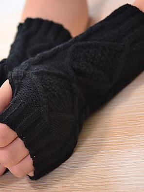 ženy vlna délka poloviny prst loket, žakárová příležitostná zimní