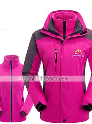 טיולי טבע ג'קט / מעילי פליז / ז'קט עם שכבה חיצונית רכה / ז'קטים לנשים / ז'קטים לחורף / צמרות לנשיםעמיד למים / נושם / שמור על חום הגוף /