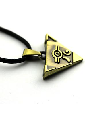 אביזרים נוספים קיבל השראה מ Yu-Gi-Oh קוספליי אנימה אביזרי קוספליי שרשרת מוזהב סגסוגת
