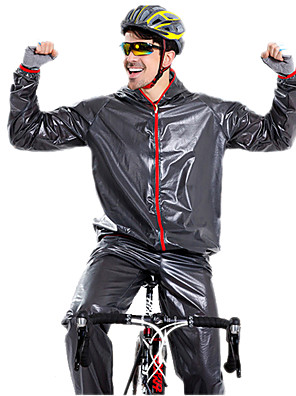 Esportivo Calça com Camisa para Ciclismo Unissexo Manga Comprida Moto Impermeável / A Prova de Vento / Á Prova-de-ChuvaCasaco Impermiável