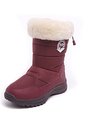 מגפיים עד אמצע השוק-לנשים-ספורט שלג(קפה / אפור / שחור / בורדו)