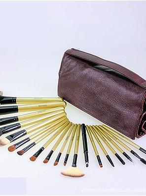 19 Conjuntos de pincel Escova de Cabelo Mink / Escova de Cabelo de Cabra / Escova Esquilo / Pêlo Sintético / CavaloViagem / Cobertura