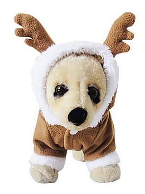 David's Hjorte Sherpa Hoodie Sæt til Dogs (XS-XL)