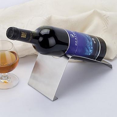 tischdekoration weinflaschenhalter aus edelstahl tisch. Black Bedroom Furniture Sets. Home Design Ideas
