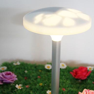 Las luces de jard n de metal con 2 luces led solares for Luces led jardin ikea