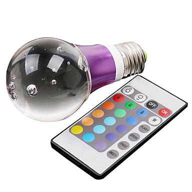 lampadina led rgb : ... di cristallo a led rgb palla lampadina (110-240v) del 2015 a $43.99