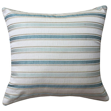 Modern Family Pillow Stripe : Modern Striped Polyester Decorative Pillow Cover 626598 2017 ? USD11.24