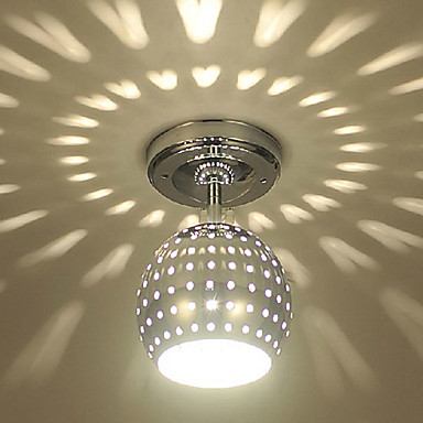 Max 3w flush mount modern contemporary electroplated for Home lighting effects