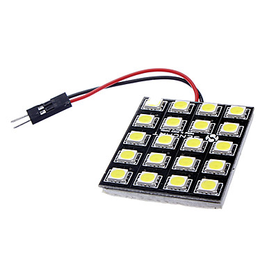 Buy T10 BA9S Festoon G4 10W 20x5050SMD 700-800LM 6000-6500K LED White Steering/Reading Lamp (DC 12V)
