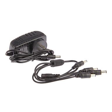 AC 100-240V DC 12V 2A Power Cord CCTV Camera Power Adapter 1 4 Camera