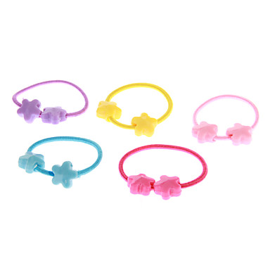 (5 pcs)Fashion Multicolor Hair Ties For Kids