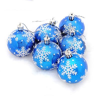Kjøp blå julekuler på nett i nettbutikk