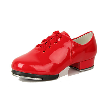 Patent Leather Upper Tap Shoes Dance Shoes for Women/Kids ...