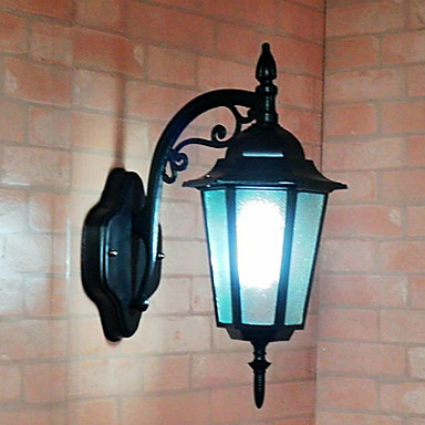 Outdoor Wall Lights , Traditional/Classic E26/E27 Metal 1233844 2017 USD 40.49