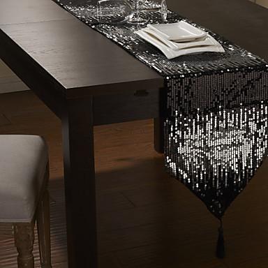 12 x80 modern sequins embellished table runner 589951 for Caminos de mesa modernos