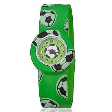 Children's Colorful Bendable Silicone Band Slap Watch Cool Watches Unique Watches