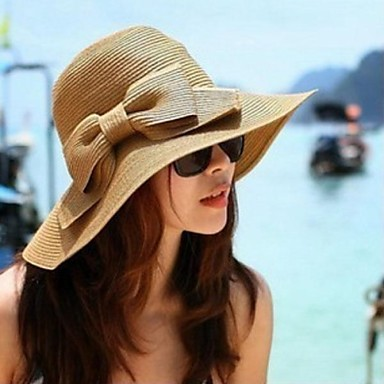 Women Straw Straw Hat,Casual Summer