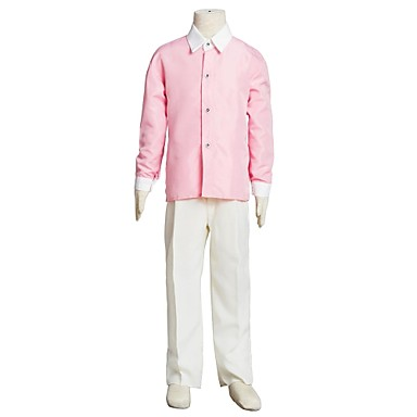 Boy's Cotton Blend Shirt,Summer / Spring / Fall Solid