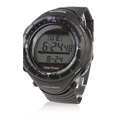 Men's Watch Sports Solar Powered Multi-Function Luminous Back-light Cool Watch Unique Watch Fashion Watch