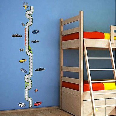 Createforlife ® Cartoon Transport Line Kids Art Camera dei bambini Wall Sticker Wall Decals del ...