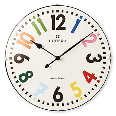 12 de colores de los n meros rabes de cristal reloj de - Reloj de pared moderno ...