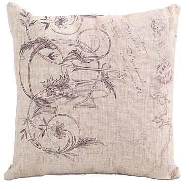 coton lin housse de coussin coussin avec rembourrage. Black Bedroom Furniture Sets. Home Design Ideas