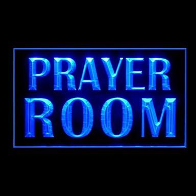 prayer room advertising led light sign 1643683 2017. Black Bedroom Furniture Sets. Home Design Ideas