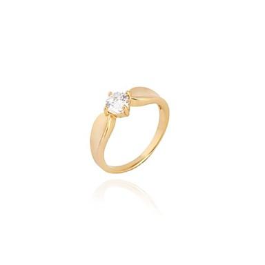 s fashion unique design 18k gold zircon ring 1700821