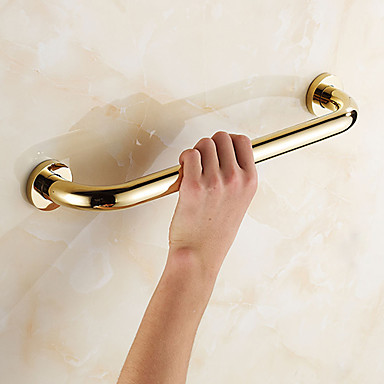 Buy Grab Bar Antique Brass Wall Mounted 40*8*2.5cm(15.7*3.14*0.98 inch) Contemporary