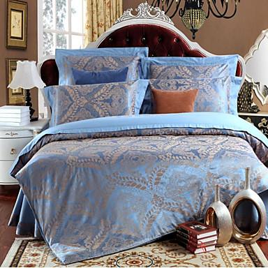 ensembles housse de couette shuian en m lange soie. Black Bedroom Furniture Sets. Home Design Ideas