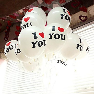 """I Love You"" Balloon - Set of 100"