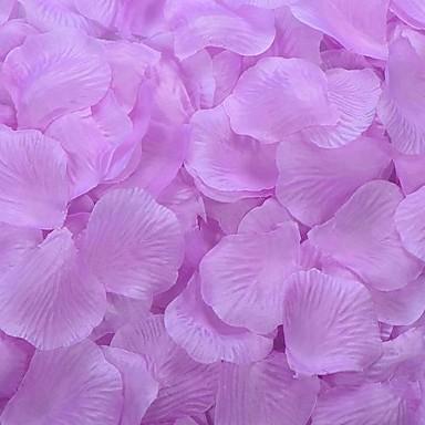 lilac rose petals table decoration set of 100 petals. Black Bedroom Furniture Sets. Home Design Ideas