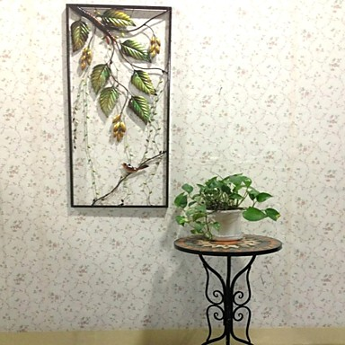 E Home Metal Wall Art Wall Decor Fruit And Birds Wall