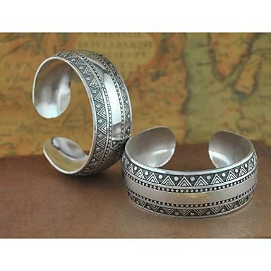 1PCS Fashion Carved Silver Bracelet N0.8