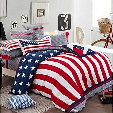 fadfay new 2014 modern designer bedding set american flag bedding set kids cool bedding set. Black Bedroom Furniture Sets. Home Design Ideas